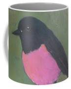 Pink Robin Coffee Mug
