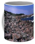 Pink Rock Shoreline Coffee Mug
