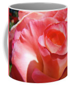 Pink Rose Art Prints Floral Summer Rose Flower Baslee Troutman Coffee Mug