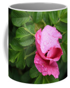 Pink Rose Bud Coffee Mug