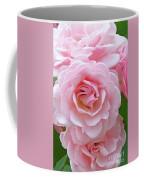 Pink Rose Cluster IIi Coffee Mug