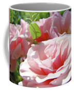 Pink Rose Flower Garden Art Prints Pastel Pink Roses Baslee Troutman Coffee Mug