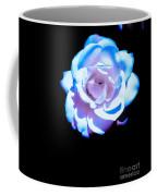 Pink Rose Has The Blues Coffee Mug