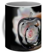 Pink Rose In Apple Coffee Mug