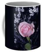 Pink Rose Of Imperfection Coffee Mug