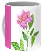 Pink Rose, Painting Coffee Mug