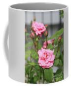 Pink Rose With Buds Coffee Mug