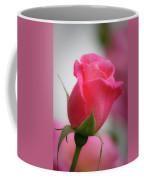 Pink Rosebud 1 Coffee Mug