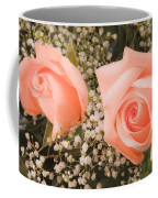 Pink Roses Fine Art Photography Print Coffee Mug