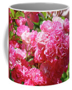 Pink Roses Summer Rose Garden Roses Giclee Art Prints Baslee Troutman Coffee Mug