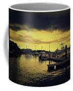 Pink Shell Marina Coffee Mug