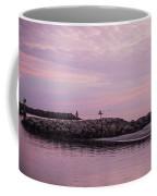 Pink Skies At Dawn Coffee Mug