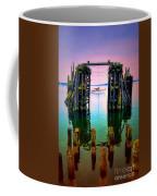 Pink Skies In Port Townsend Coffee Mug