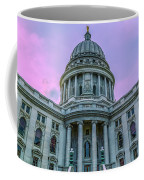 Pink Sky On The Square Coffee Mug
