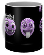 Pink Smileys Coffee Mug