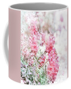 Pink Snapdragons Watercolor Coffee Mug