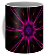 Pink Starburst Fractal  Coffee Mug