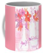 Pink Still Life Coffee Mug