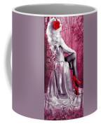 Pink Coffee Mug by Svetlana Sewell