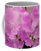 Pink Sweetpeas Coffee Mug