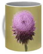 Pink Thistle Coffee Mug