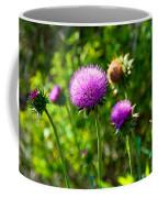 Pink Thistle Study 1 Coffee Mug