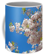 Pink Tree Blossoms Art Prints 55 Spring Flowers Blue Sky Landscape  Coffee Mug