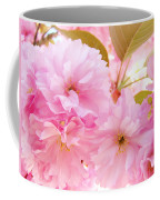 Pink Tree Blossoms Art Prints Spring Blossoms Baslee Troutman Coffee Mug