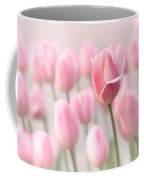 Pink Tulip Cloud Coffee Mug