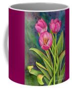 Pink Tulip Twist Coffee Mug