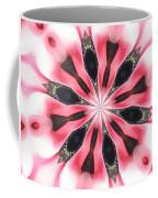 Pink White Petals Coffee Mug