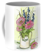 Pink Zinneas Coffee Mug