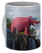 Pinky The Elephant At Cape Canaveral Coffee Mug
