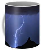 Pinnacle Peak Lightning  Coffee Mug
