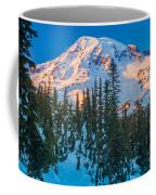Pinnacle Saddle Winter Coffee Mug