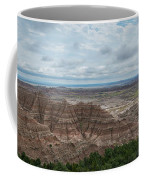 Pinnacles Overlook Panorama  Coffee Mug