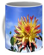 Pinwheel Dahlia Coffee Mug