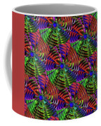 Pinwheel Red Coffee Mug