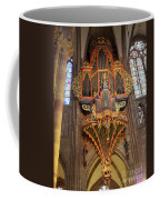 Pipe Organ In Strasbourg Cathedral Coffee Mug