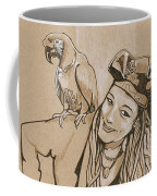 Pirate And Parrot Coffee Mug