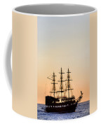 Pirate Boat Coffee Mug