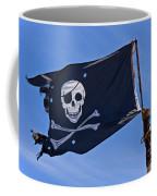 Pirate Flag Skull And Cross Bones Coffee Mug
