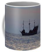 Pirate Ship At Clearwater Coffee Mug