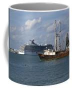 Pirate's Pride In Port Canaveral Coffee Mug