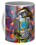 Pisces With Six Fence Lotus Coffee Mug
