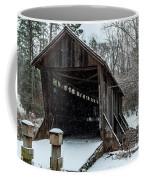 Pisgah Covered Bridge - Modern Coffee Mug