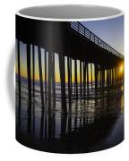 Pismo Sunset Wharf Coffee Mug
