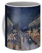 Pissarro: Paris At Night Coffee Mug