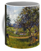 Pissarro: Wheelbarr., 1881 Coffee Mug