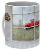 Pit Road--fire And Ice  Coffee Mug
